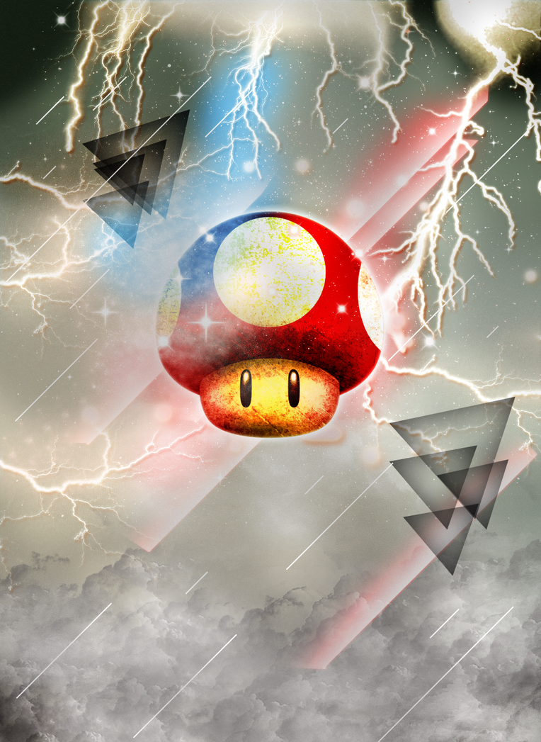 An Electrifying Mushroom by Grouwel
