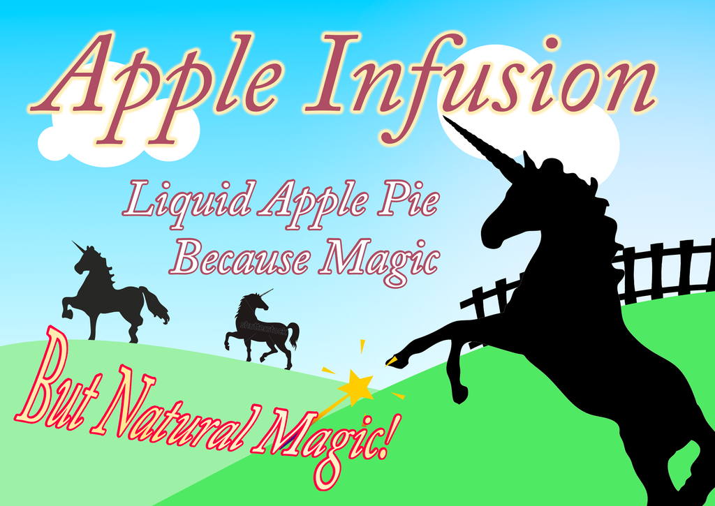 Apple infusion label 1 v2 by ECHOtheGECKO