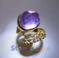 Amethyst Ring (handmade)