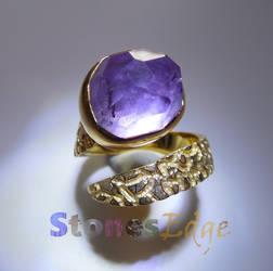 Amethyst Ring (handmade) by StonesEdge