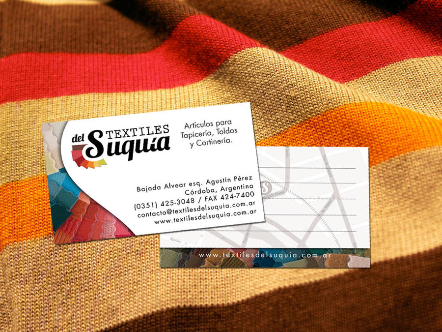 Textiles del Suquia Business Card by gonzalog2 on DeviantArt