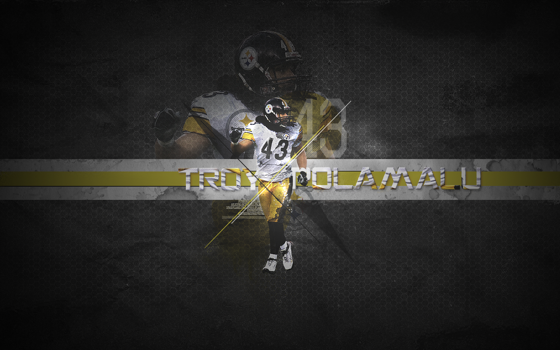Troy Polamalu by Hurricane-Season