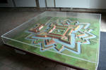 model of baroque fortress Brod
