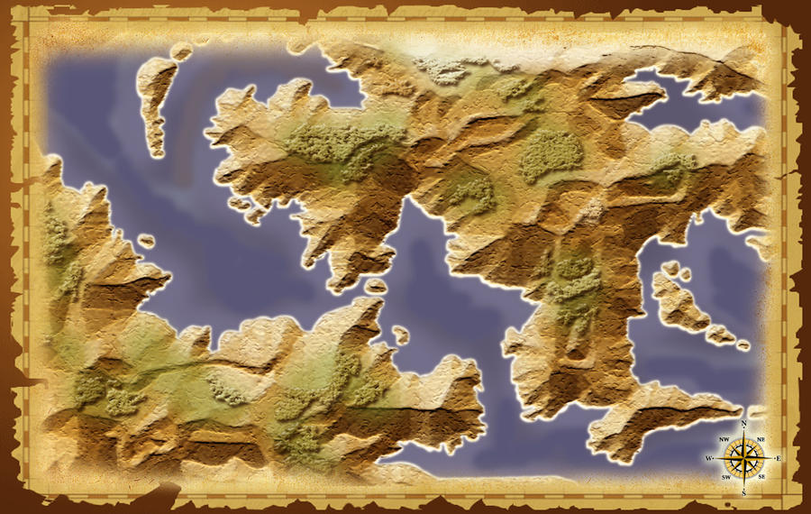 Blank Fantasy World Map Generator.Blank Fantasy World Map Generator Infovisual
