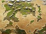 Blank Map of Fantasy world 2