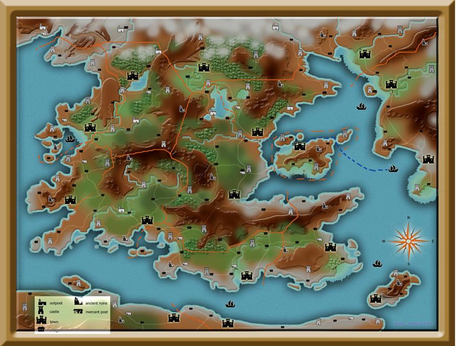 Fantasy Map Maker Software - #GolfClub