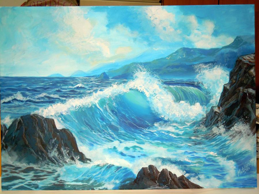 Restless sea by Sedeslav