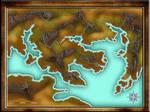 Blind fantasy map