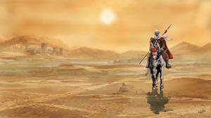 Desert Warrior by Sedeslav