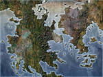 Fantasy Blank Map