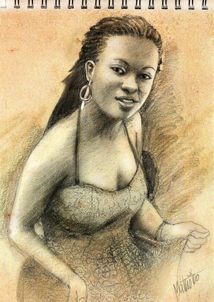 Nigerian Girl by Sedeslav