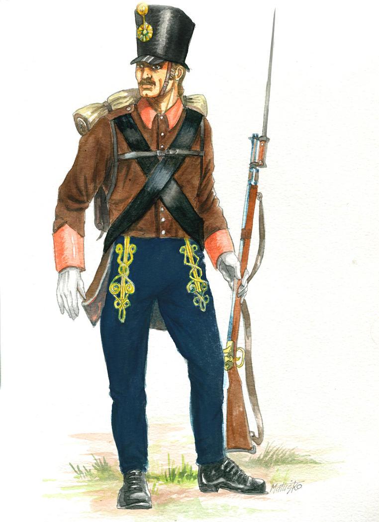 Austro - Hungarian border infantry Broder Regiment by Sedeslav