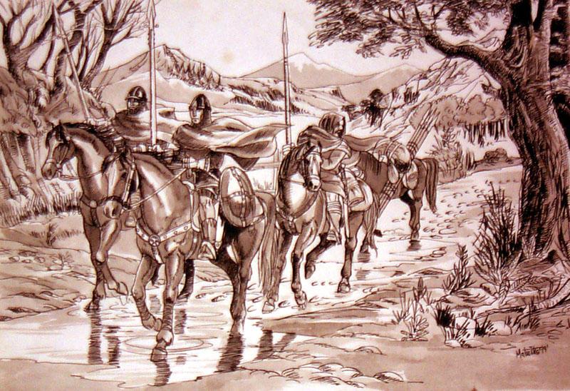 medieval scene by Sedeslav