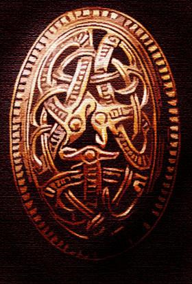 Viking's brosch by Sedeslav