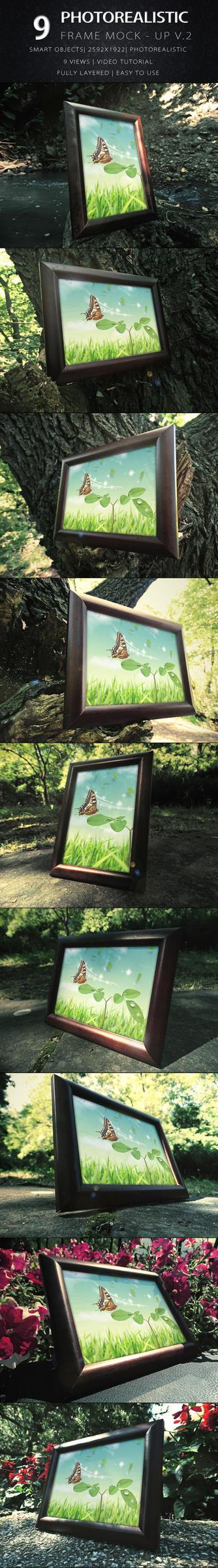 Photorealistic Frame Mock Up Vol.2 by KILVAM