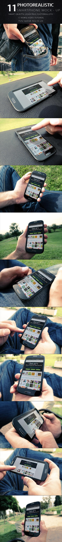 Photorealistic SmartPhone Mock Up by KILVAM