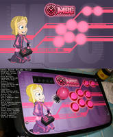 Cathy MBC Arcade Stick by HellaStyle