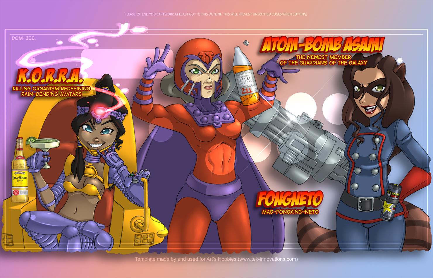 Ultimate Marvel vs Capkorra 3 by HellaStyle