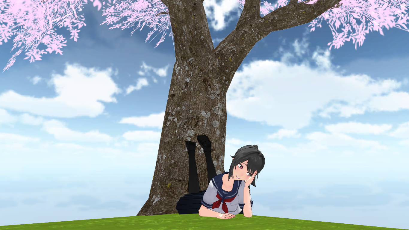 DayDreaming About Senpai [Yan Sim's Official Sky] by YanSimMMDLover