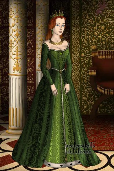 Queen Katherine of Aragon by eternalkikyofan