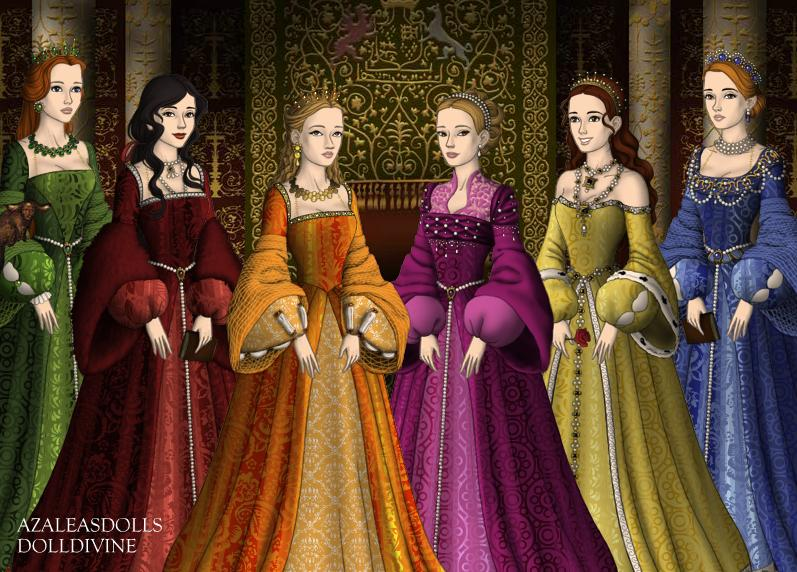 six wives of henry viii With keith michell, anthony quayle, patrick troughton, bernard hepton a six-episode dramatization of henry viii's relationships with each of his six wives each.