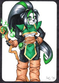 Wandering Jade Mage