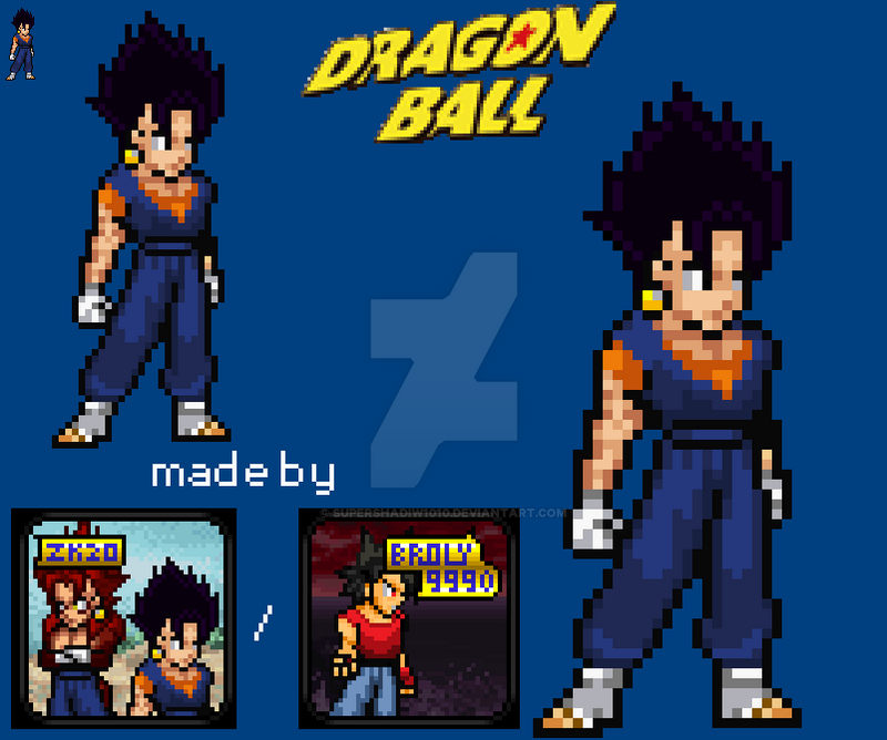Universe 16 Base Vegito Sprite Preview By Supershadiw1010