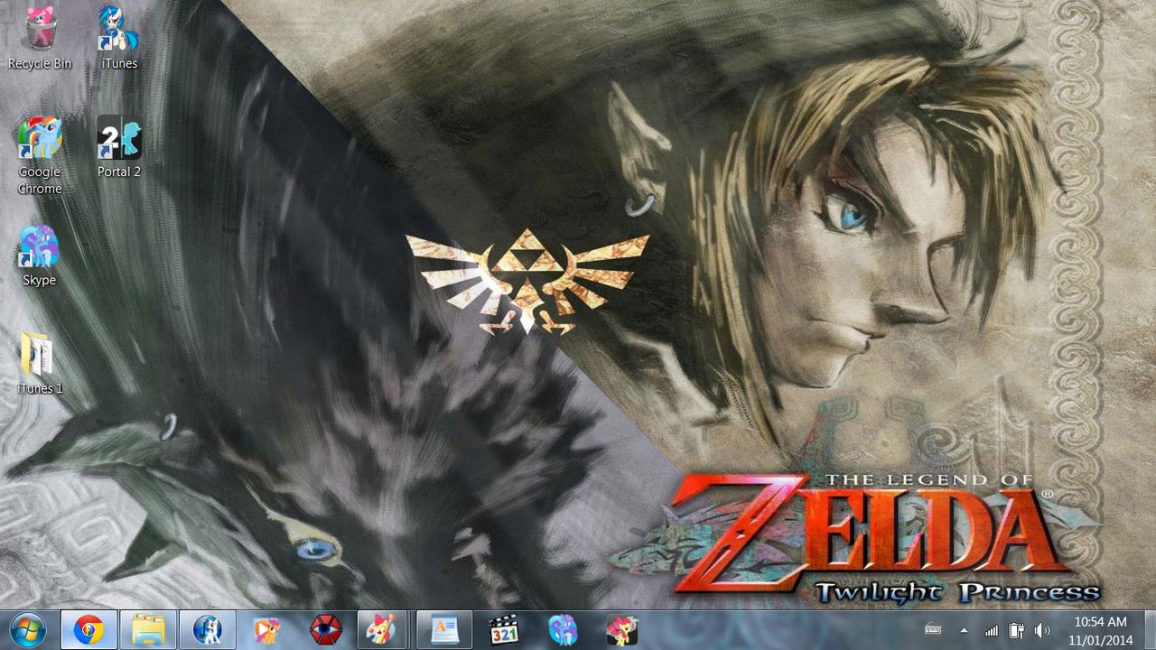 Zelda Month 2014 wallpaper: Twilight Princess by ...