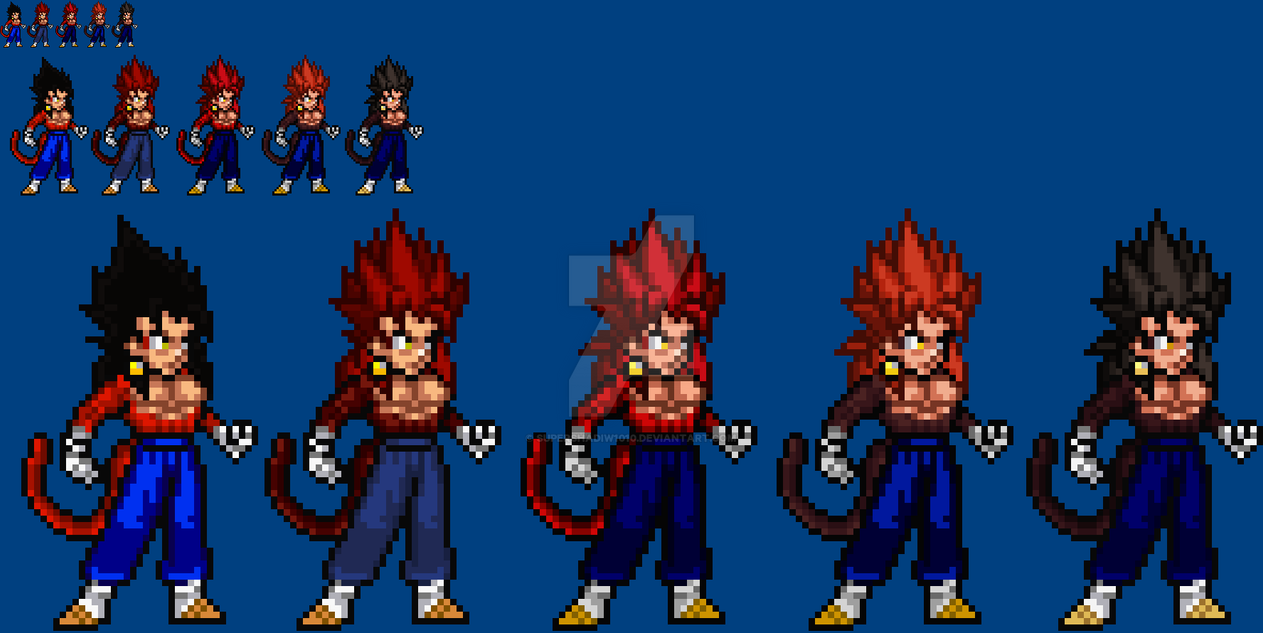2012-2014: SSJ4 Vegetto Look-back By SuperShadiw1010 On