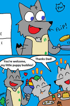 Breakfast with Dad