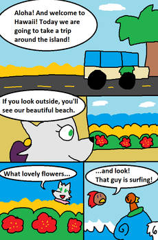 PizzaWolf Family Vacation - Page 6