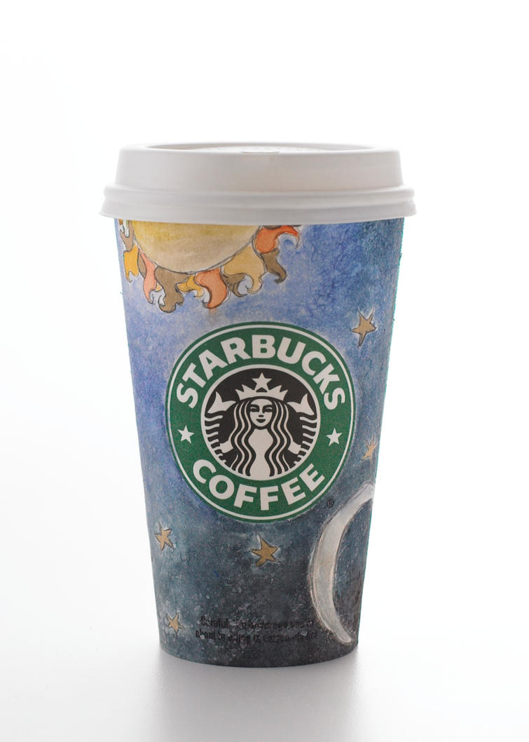 Celestial Starbucks by Insinidy
