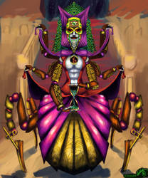 Lady Simula - Carnival of Venice Character design by PlayCeboVision