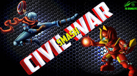 Smash Bros Civil War by PlayCeboVision