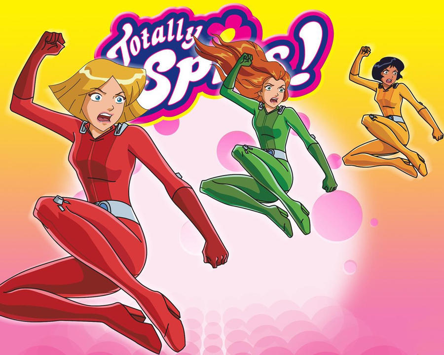 Totally spies sam alex and clover by neitrali on deviantart - Clover totally spies ...