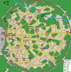naruto - konoha's map