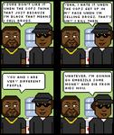 Ice Cube and Eazy E
