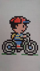 Ness and his bike by Dauwst