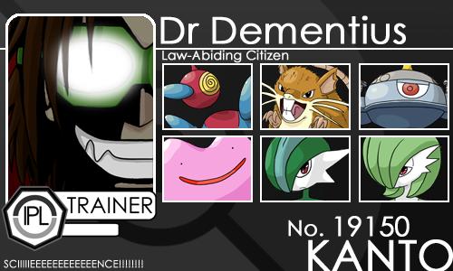 Trainer- Dr Dementius by Yena-Kiachi
