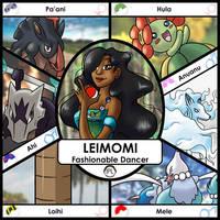 Leimomi Trainer Card by Yena-Kiachi