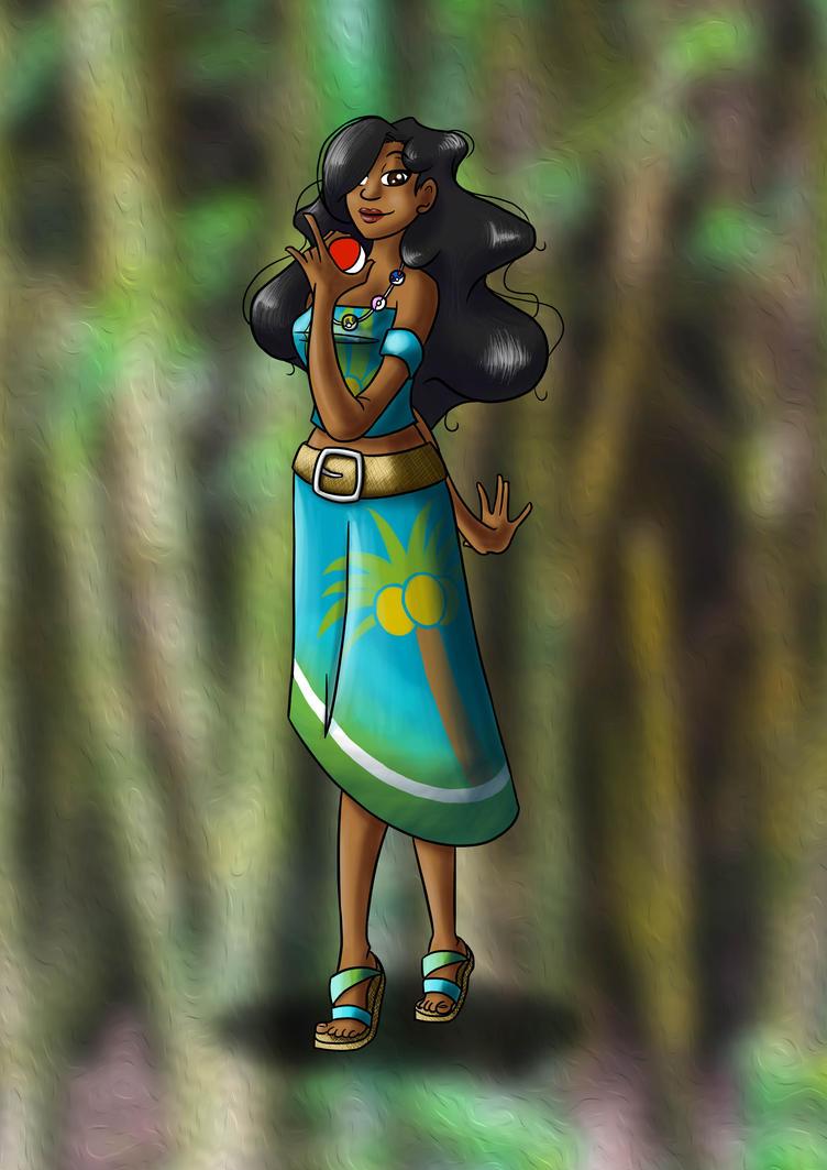 Character Ref - Leimomi by Yena-Kiachi