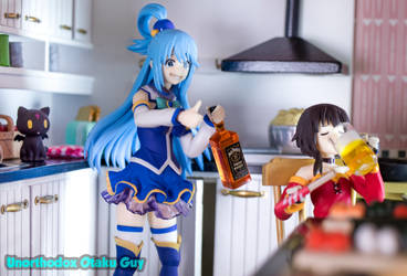 Aqua and Megumin Ladies Night by PunkBMXartist