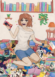 Stop the war between mangas and novels by Naoko90