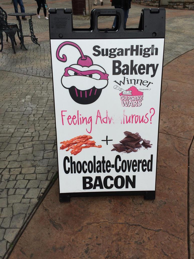 Sugar High Cupcake Bakery sign by fieoria