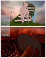 |YHH-open| auction Heaven and Hell by Amber18db