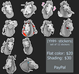 |YHH- stickers| are open by Amber18db