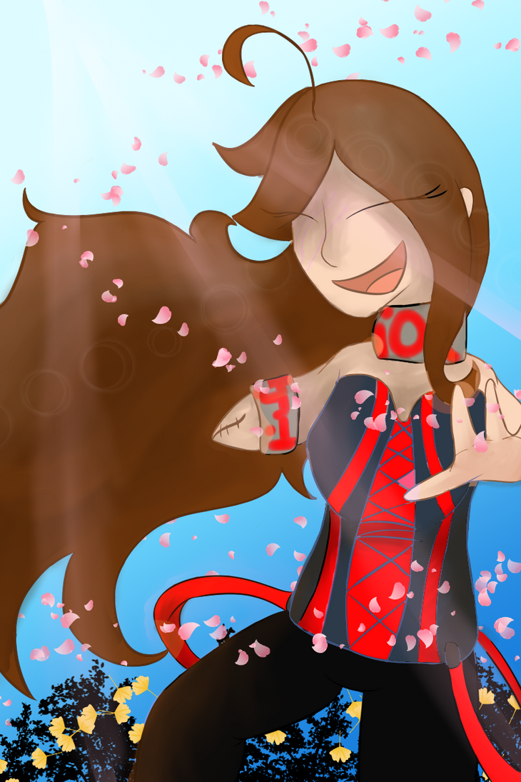 Flower petals and Happiness: Z-Parasite SS by Peppa91