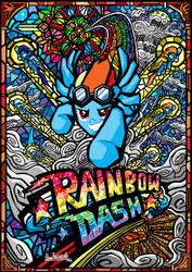 Rainbow Dash by glenbw