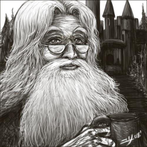 .Dumbledore. by Yuri-Nikko