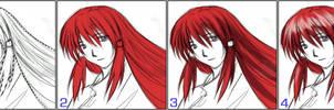 Mini Coloring Lesson by Yuri-Nikko
